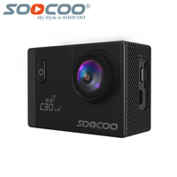 SOOCOO C30 Action 4K Sport Camera NTK96660 Waterproof Wifi Gyro 70 170 Degrees Adjustable Action Sports
