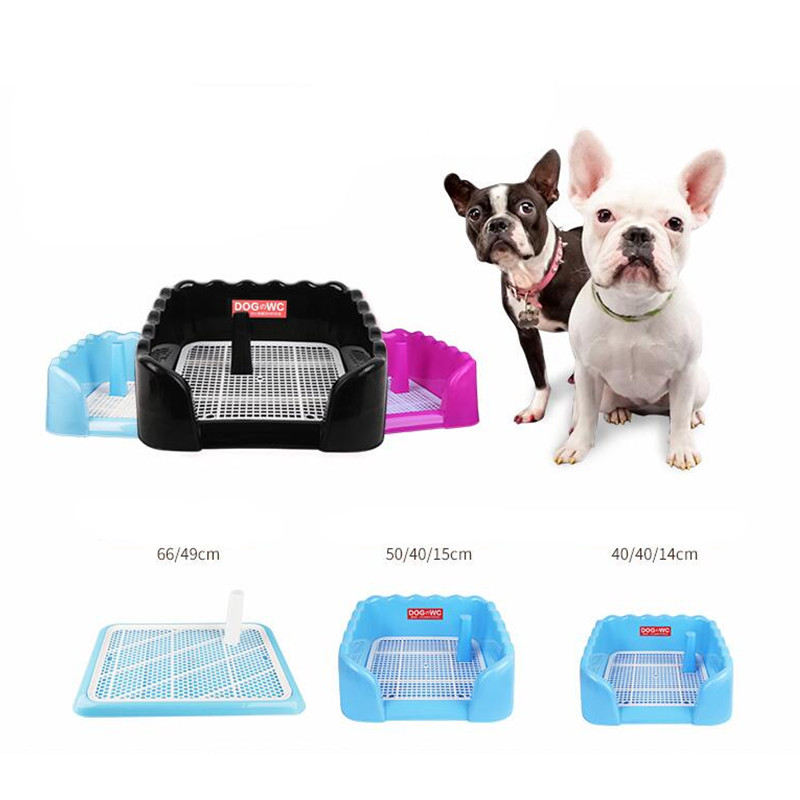 Dog Toilet Training Cleaning Pad Plastic Large Dog Diaper Potty Small Dog Than Bear Golden Hair Tray Pad Pet Cleaning Supplies