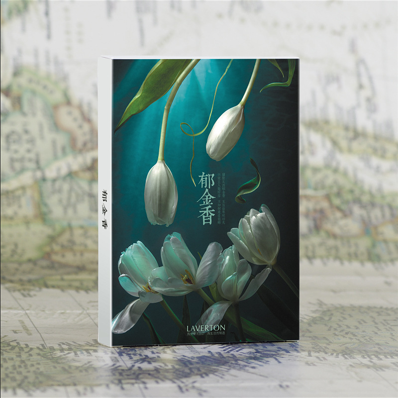 30 Sheets/Set Tulips Postcard/Greeting Card/Message Card/Christmas And New Year Gift Card