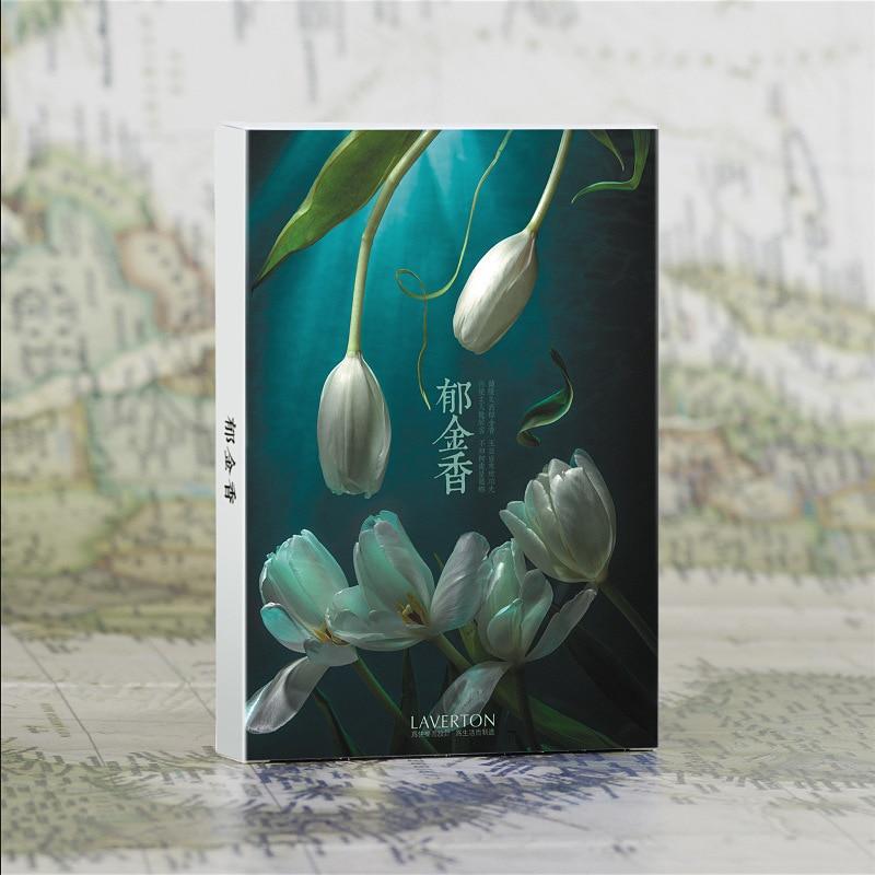 Karton AnpassungsfäHig 30 Blätter/set Tulpen Postkarte/gruß Karte/nachricht Karte/weihnachten Und Neue Jahr Geschenk Karte Modernes Design