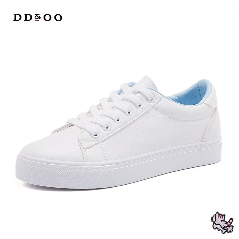 2017autumn new fashion women shoes cute cat casual high platform solid color PU leather women casual white shoes  sneakers free shipping 2017summer autumn new fashion women shoes casual flats solid breathable simple women casual white shoes sneakers