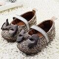 Princesa linda Calzado Infantil de La Muchacha Zapatos Con Bowknot encantador de Los Niños de los Bebés Recién Nacidos Toddler Suela Blanda Zapatos Nina