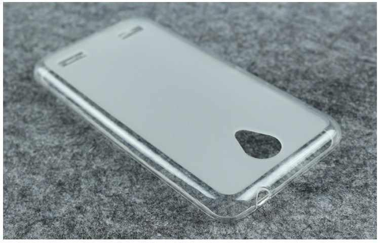 Чехол для телефона для ZTE Blade A520 5-ти дюймовый Высокое качество ТПУ Мягкий силиконовый прозрачный Желейный чехол из термополиуретана