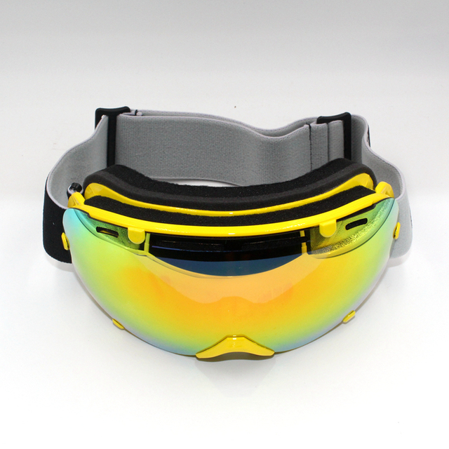 df19cddc7284 New Coming Unisex Winter Doubl Lens Ski Goggles UV-protect Snow Sports  Eyewear Anti-fog Cycling Skating Ski Goggle