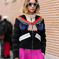 Fashion Monster Eye Jacket Women Real Raccoon Fur Eyelash Patchwork Faux Wool Fur Thin Parka Coat Winter Luxury Lady Outwear