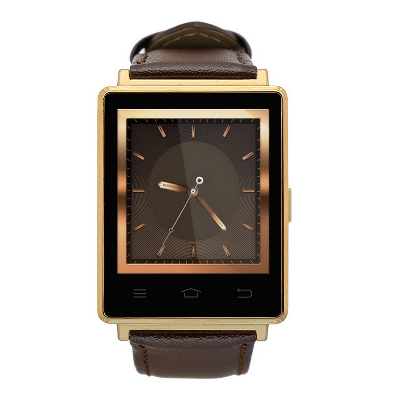 NO.1 D6 Smart Watch Phone Android 5.1 MTK6580 Quad Core1GB/ 8GB GPS SIM WiFi BT4.0 Pedometer WiFi Heart Rate Monitoring