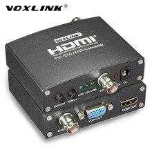 VOXLINK AHD/TVI/CVI Video Converter Full HD 1080p TVI/ CVI /AHD Signal to CVBS/VGA/HDMI HD Video Converter For CCTV Cameras