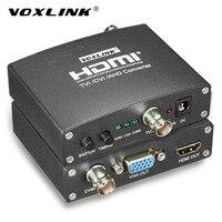 VOXLINK AHD TVI CVI Video Converter Full HD 1080p TVI CVI AHD Signal To CVBS VGA
