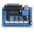 NI5L Mach3 CNC Stepping Motor Driver Interface Adapter Breakout Board +USB Cable DC 12-24V