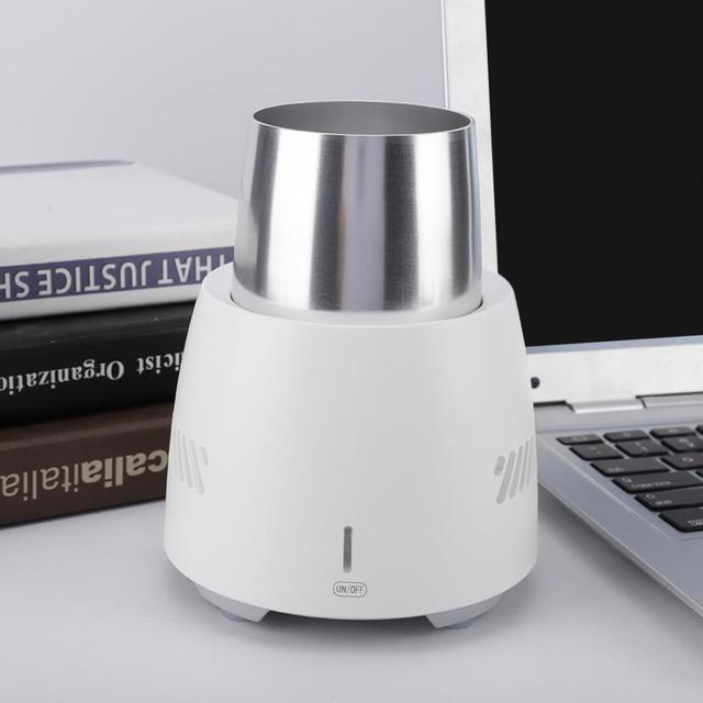 100-250 v Rápida Refrigeração Copo Pequeno Instante Bebida Fria Máquina de Refrigeração E Refrigeração Copo Escritório Em Casa Pequeno Aparelho