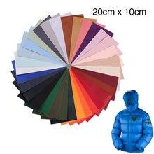 Parches autoadhesivos, pegatina de tela, decoración disponible, Corte libre, bricolaje, reparación, chaqueta, impermeable, paraguas, apliques