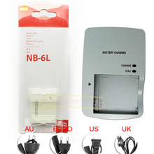 NB 6L NB-6L Rechargeable Battery + CB-2LYE CB-2LY Charger pack For Canon IXUS310 IXUS500 IXUS551 S90 S95 D10 SX500 SX170 Camera