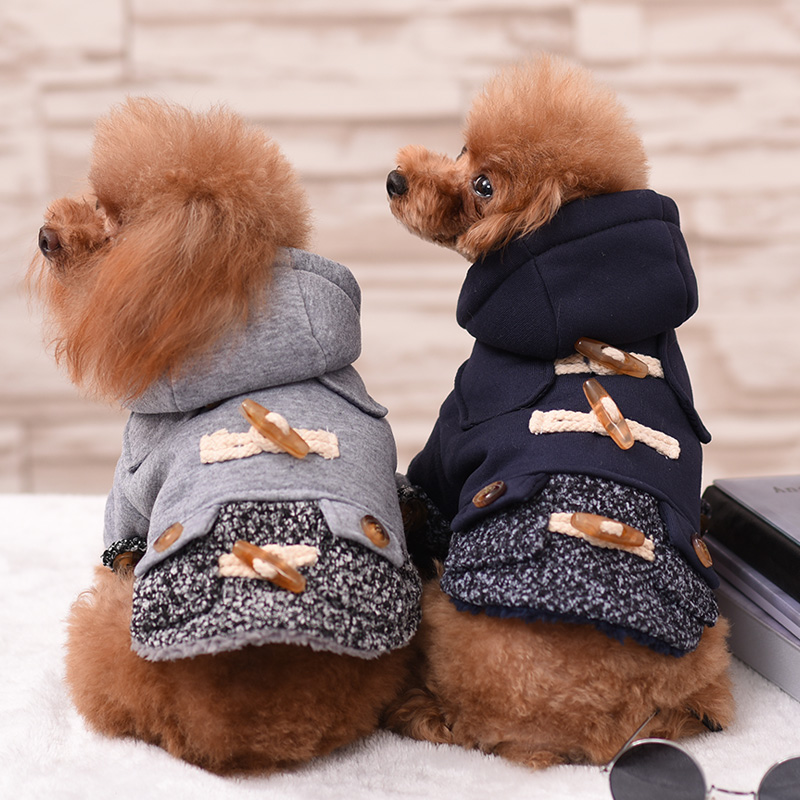 Különböző stílus kutya kisállat kabát ruhák kutya kabát - Pet termékek