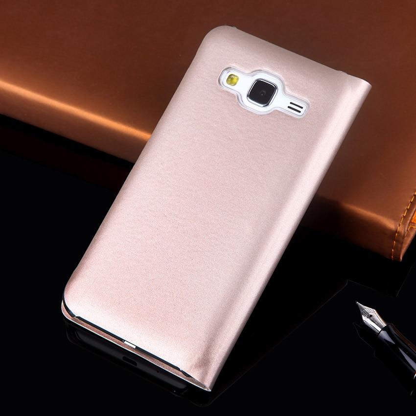 Flip Cover Wallet Leather Phone Case För Samsung Galaxy J3 2016 2015 - Reservdelar och tillbehör för mobiltelefoner - Foto 3