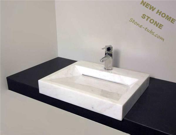 Stupendous Modern Sink White Marble Vanity Sink Simpleluxury Design Interior Design Ideas Gentotryabchikinfo