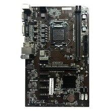 1PC Motherboard H81A-BTC V20 Miner ATX Board LGA1150 Socket Processor H81 Mainboard Support 6 Graphics Card For Mining
