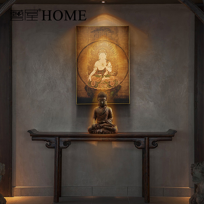 India Style Hand Made Resin Buddha Sculpture Home Furnishing Living Room  Decoration Home Decor Luxury Furnishing Ornaments In Statues U0026 Sculptures  From Home ...