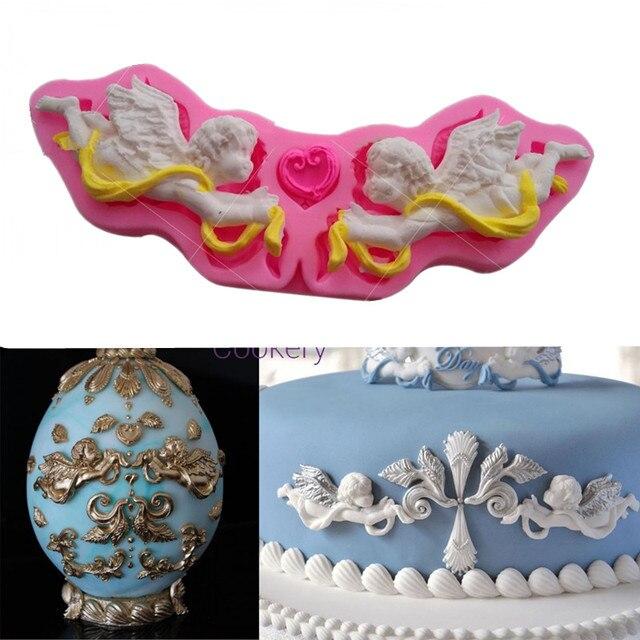 Taufe Engel Fondant Kuchenform Silikon Formen Seife Kuchen Dekor