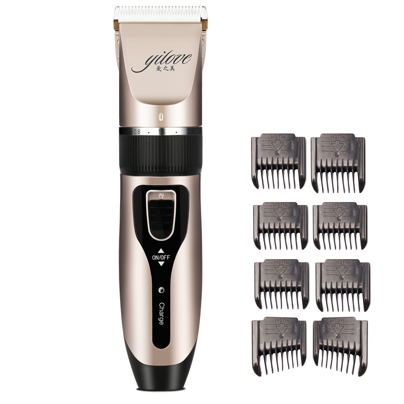 Professional Clipper Hair Trimmer Beard For Men Electric Cutter Hair Cutting Machine Haircut For Barber Ceramic
