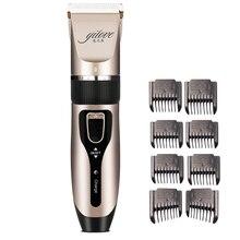 Professional Clipper Hair Trimmer Beard For Men Electric Cutter Hair Cutting Machine Haircut For Barber Ceramic Blade