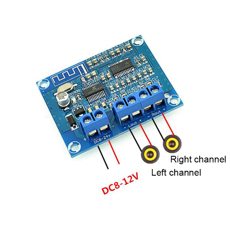 Image 2 - TPA3110D2 Bluetooth Digital power amplifier board 15W*2 Streo Channel Speaker audio amplifier Module-in Amplifier from Consumer Electronics