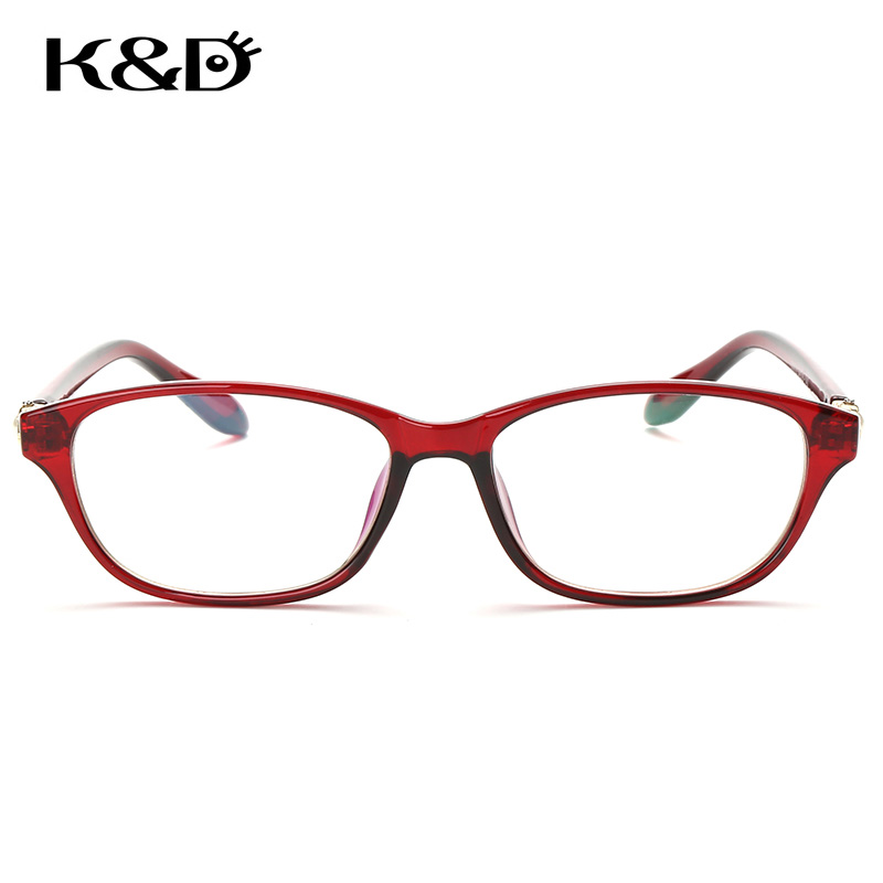 K & D Brillen Perle Diamant Dame Frau Gradient Rahmen Gläser Doppel ...