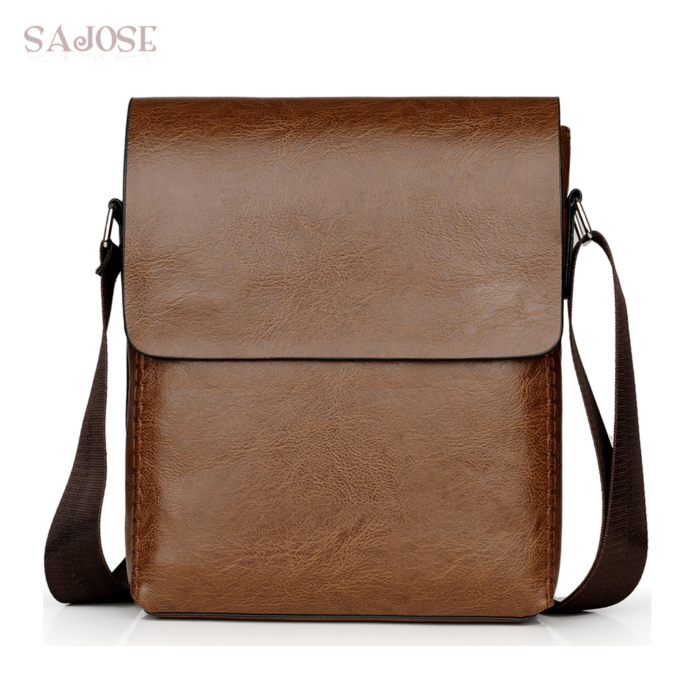 Crossbody Bags For Men Leather Shoulder Bag Male Casual Simple Knitting Messenger Bags High Quality Business Men's Hand Bag 1