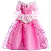 Little Girls Bridesmaids Tutu Dress Fluffy Girl Party Ball Gown Girl Clothes Summer Dress Birthday Wedding