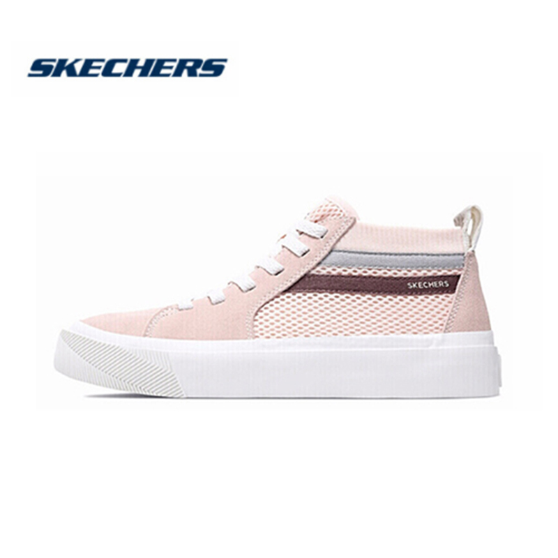 <font><b>Skechers</b></font> Casual Shoes Women Fashion Breathable Comfortable Lace up classic fashion Tenis Feminino Zapatos De <font><b>Mujer</b></font> 18070-LTPK image