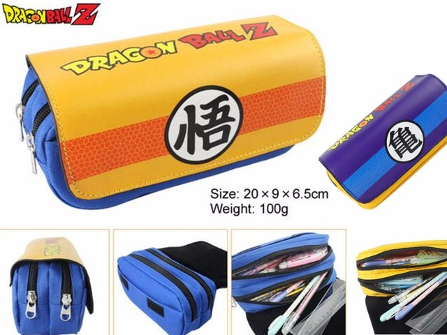 Dragonball Z Double Zipper Stationery Bag
