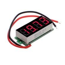 """Мини 4 цифры 0,3"""" цифровой светодиодный Дисплей Вольтметр постоянного тока 3,5-30,00 V 2 провода видео-телефон двери Напряжение тестер 12000091"""