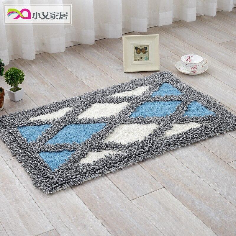 Couleur Lingge coton chenille alfombras dortoir tapis puzzle tapis salle de bain tapis paillasson tapis de sol tapis tappeti antidérapant