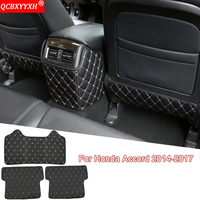QCBXYYXH Car Styling Auto Interior Seat Protector Side Edge Protection Pad Car Sticker Anti Kick Mats