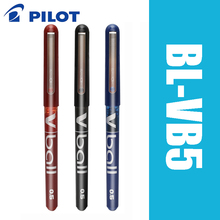 6 шт. Pilot V Ball BL VB5 6 шт./лот гелевая ручка с чистыми жидкими чернилами черные/синие Супер Гладкие принадлежности для письма