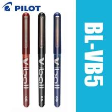6pcs Pilot V Ball BL VB5 6pcs/lot Pure Liquid Ink Gel Pen Black/Blue Super Smooth Writing Supplies