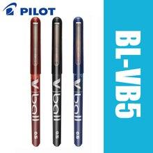6pcs פיילוט V כדור BL VB5 6 יח\חבילה טהור נוזל דיו ג ל עט שחור/כחול סופר חלק כתיבה ספקי
