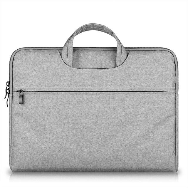 Портфель для ноутбука Лайнер Мешок Втулки 11 12 13 14 15 Случае для Macbook AIR 13 PRO Retina Ноутбука Сумка для Dell/Lenovo/Asus/Xiaomi Воздуха