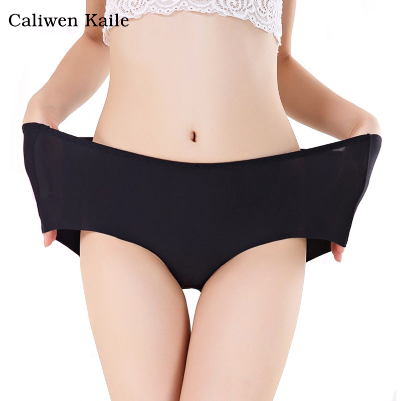 caliwen kaile Women's Underwear Seamless Crotch panties