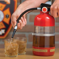 Bar Creative Fire Extinguisher Water Dispenser Beer Dispenser Alcohol Liquid Soft Drink Beverage Dispenser Machine 1