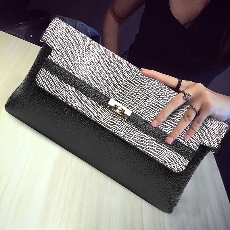 Women Cowhide Genuine Leather Day Clutches Long Wallet Female Hand Bag Large Capacity Hand Clutch Bag Crossbody Shoulder Bag yuanyu 2018 new hot free shipping real python leather women clutch women hand caught bag women bag long snake women day clutches