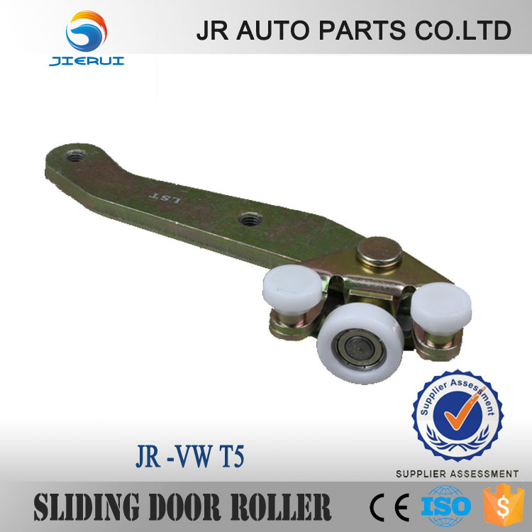 JIERUI FOR  VW TRANSPORTER T4 CAR SLIDING DOOR ROLLER BOTTOM ARM SLIDER CARAVELLE GUIDE RIGHT