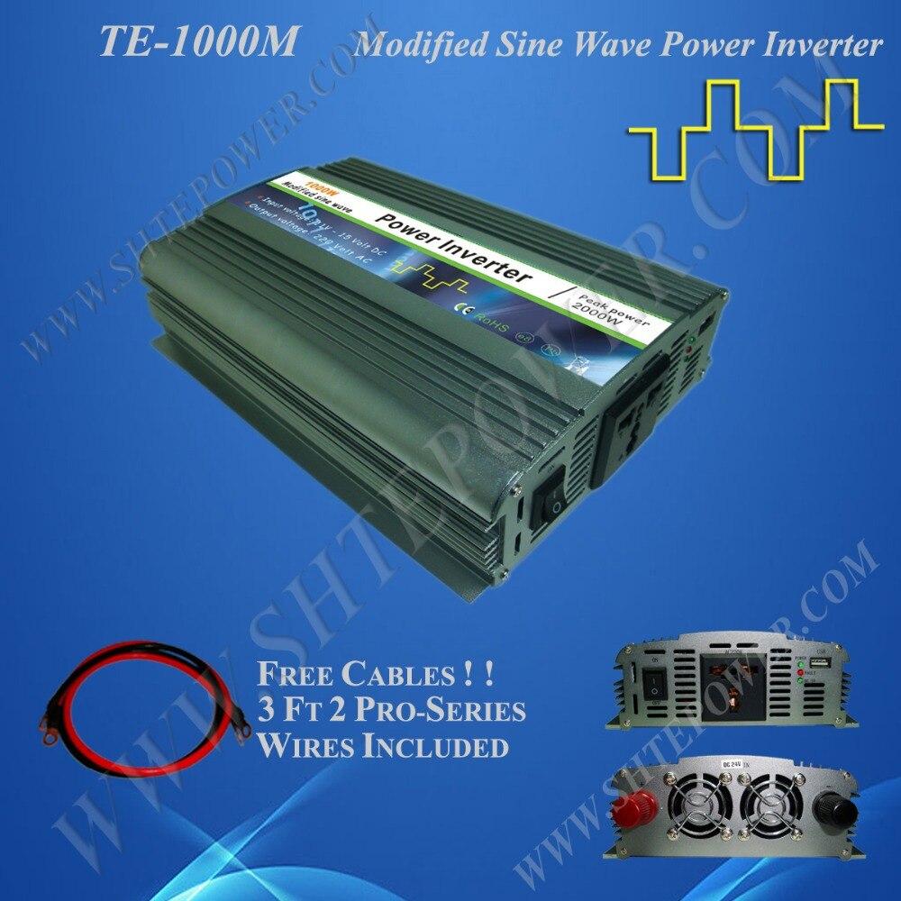 inverter 12v 220v 1000w dc ac inverter 1kw input 12v output 220v стоимость