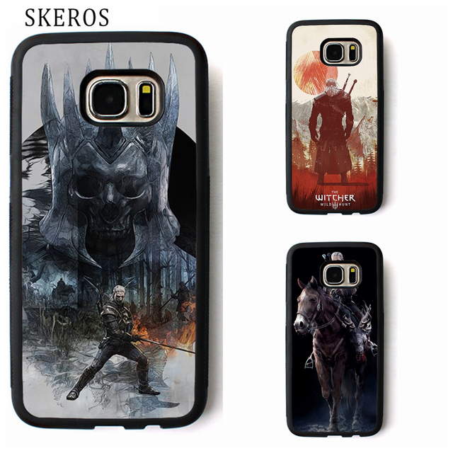 Us 499 Skeros The Witcher 3 Phone Case For Samsung Galaxy S3 S4 S5 S6 S7 S8 S6 Edge S7 Edge Note 3 Note 4 Note 5 B41 In Fitted Cases From