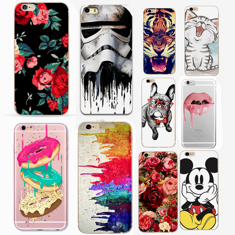 Phones Accessories Mobile Phone Case for Coque iPhone X 8 7 Plus 6s 6 5 5S SE TPU Silicone Back Cover for iPhone XS Soft Cases