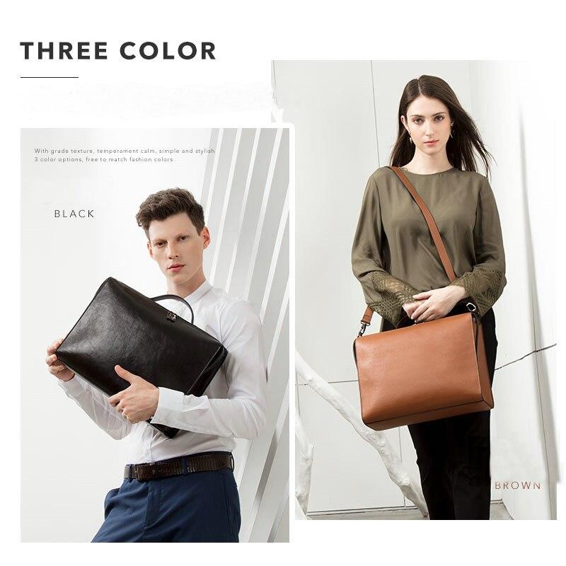 HTB1KymoRwHqK1RjSZFPq6AwapXav YINUO PU Leather Handbag High Capacity Shoulder Bag For 14inch Laptop Bag Briefcase Waterproof Detachable Summer Bag