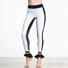 High Waist Women Yoga Pants Fitness Sexy Workout Patchwork Capris Sporting Leggings Dance Tights Slim Gym Trouser Sport Jeggings