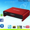 Android TV Box Amlogic S912 Android 6.0 TV Box Octa-core T95U Pro 2GB/16GB Pendoo Kodi  Fully Load,5G-WIFI,BT4.0,4K,H.265