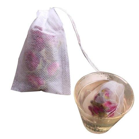 HIFUAR 100 Pcs Tea Bags Bags For Tea Bag Infuser With String Heal Seal 5.5 x 7CM Sachet Filter Paper Teabags Empty Tea Bags Karachi