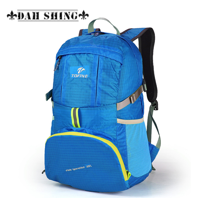 Large capacity 30L Nylon waterproof Mountaineering BIGPACK double-shoulder travel backpack rucksack zipper closureLarge capacity 30L Nylon waterproof Mountaineering BIGPACK double-shoulder travel backpack rucksack zipper closure