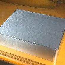 BZ3809H Серебряный полный алюминиевый корпус/мини-усилитель чехол/предусилитель коробка/корпус для блока питания